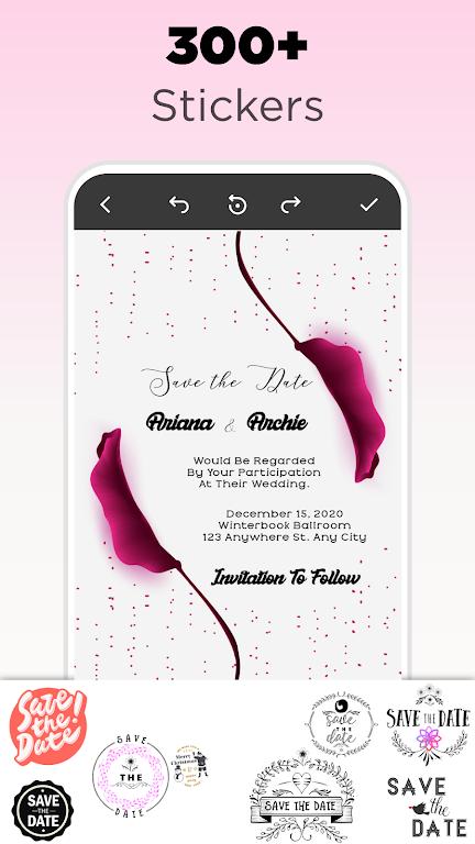 Invitation Maker - Birthday & Wedding Card Design poster 6