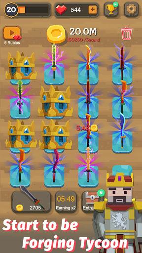 Merge Sword - Idle Blacksmith Master 1.4.4 screenshots 5