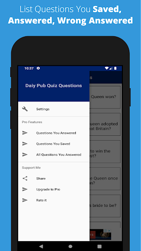 Daily Pub Quiz Questions - Pub Quiz Games UK 1.0.5.1 screenshots 1