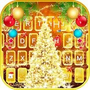Aureate Christmas Keyboard Theme