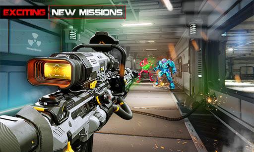 US Police Robot Counter Terrorist Shooting Games  Screenshots 6