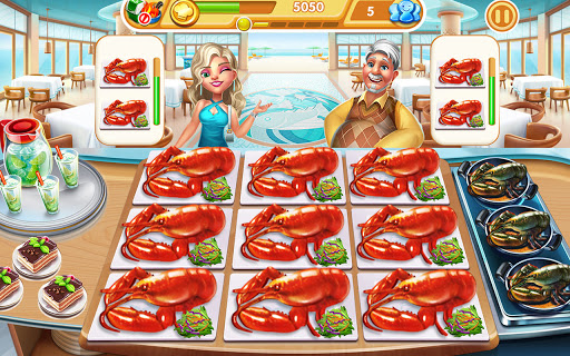 Cooking City: frenzy chef restaurant cooking games  screenshots 13