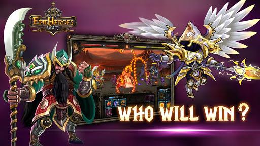 Télécharger Epic Heroes War: Action + RPG + Strategy + PvP mod apk screenshots 5