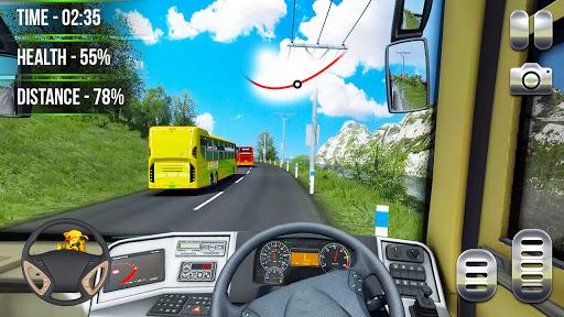 Heavy Bus Simulator 2021:Offroad Cargo Bus Drive  screenshots 9
