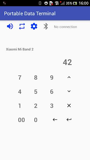 wireless bluetooth barode scanner & data collector screenshot 3