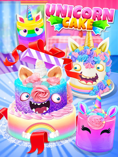 Unicorn Food - Cake Bakery 2.1 Screenshots 11