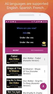 Karaoke: Sing & Record 8.4.1 Screenshots 2