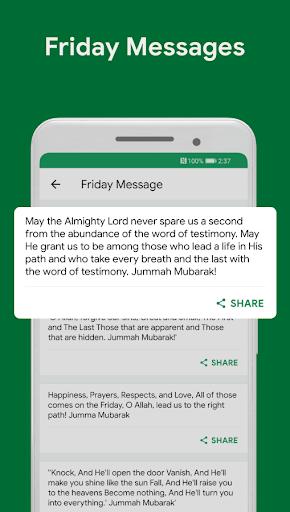 Muslim Assistant - Prayer Times, Azan, Qibla 4.2.06 Screenshots 7