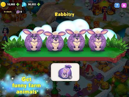 Royal Farm: Village Game with Quests & Fairy tales 1.47.0 Screenshots 4