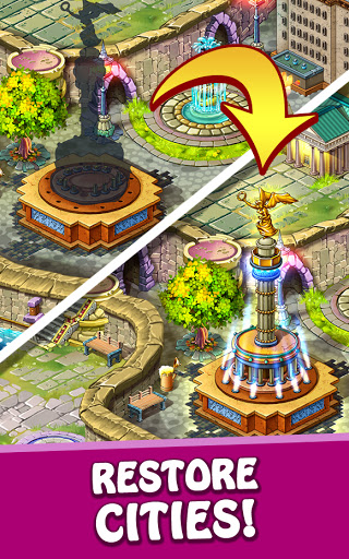 Magica Travel Agency - Match 3 Puzzle Game 1.3.0 screenshots 5