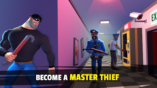 Robbery Madness 2: Stealth Master Thief Simulator Mod Apk 2.0.9 (Unlimited Money) 1