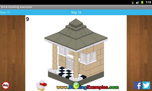 Brick building examples apkmr screenshots 6