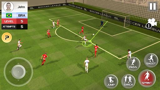 Soccer League Season 2021: Mayhem Football Games  screenshots 2