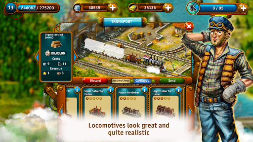 Transport Empire: Steam Tycoon  de.gamequotes.net 3
