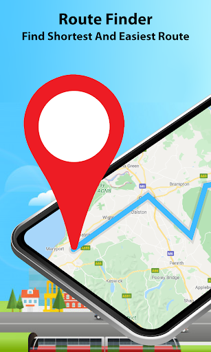 GPS Alarm Route Finder - Map Alarm & Route Planner 1.5 Screenshots 1