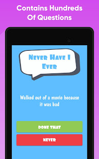 Never Have I Ever - Party Game