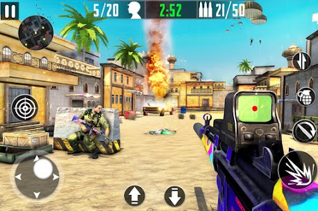 FPS Counter Attack Mod Apk – Terrorist Shooting (Dumb Enemy) 4