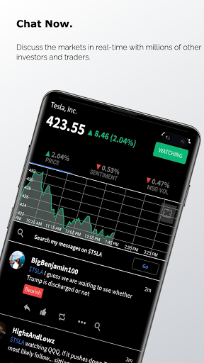 Stocktwits - Stock Market Chat android2mod screenshots 3