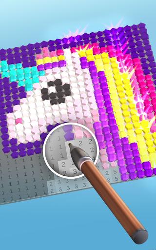 Diamond Painting ASMR Coloring 0.1.5 screenshots 3