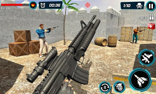 Combat Shooter 2: FPS Shooting Game Mod Apk (Dumb Enemy) 6