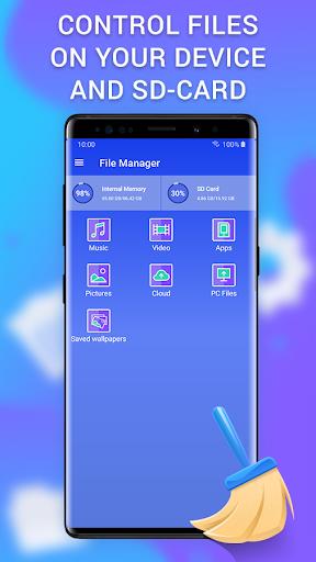 Cleaner - clean the phone, memory, cache & booster apktram screenshots 5