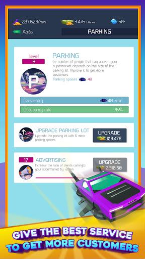 2050 Supermarket Idle u2013 Tycoon Game  screenshots 5
