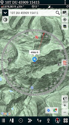 Mgrs & Utm Map apktram screenshots 3