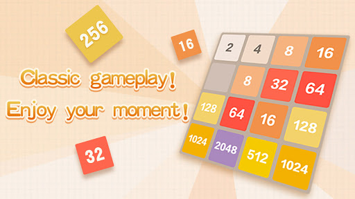 2048 Charm: Classic & Free, Number Puzzle Game 5.0501 screenshots 1