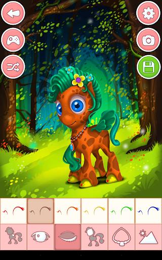 Unicorn & Pony Dress up Games 4.0 screenshots 15
