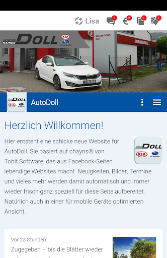 Autohaus Rainer Doll Apk 6.499 screenshots 1