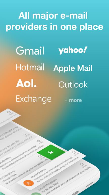 Email Aqua Mail - Exchange, SMIME, Smart inbox poster 2