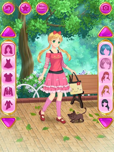 Anime Dress Up - Games For Girls 1.1.9 Screenshots 8