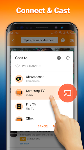 Cast to TV: Chromecast, Roku, Fire TV, Xbox, IPTV 1.3.1.3 Screenshots 3