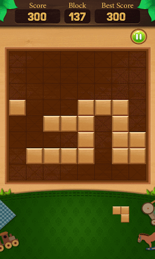 wooden block puzzle : end game screenshot 3