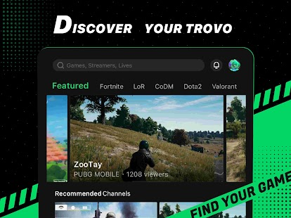Trovo - Live Stream & Games Screenshot