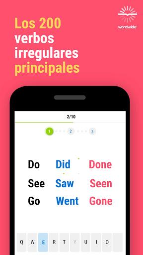 Inglu00e9s y Worldwide: aprende mu00e1s palabras screenshots 9