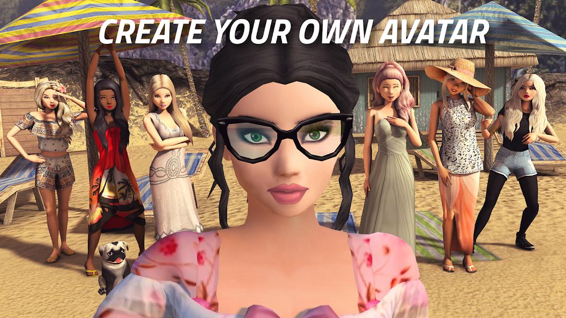 Avakin Life - 3D Virtual World Android App Screenshot