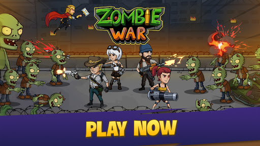 Zombie War: Idle Defense Game apkslow screenshots 16