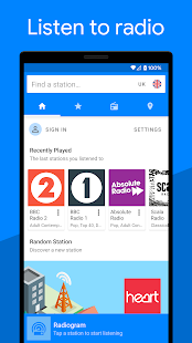 Radiogram - Radio App Screenshot