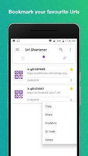 URL Shortener PRO MOD APK 4