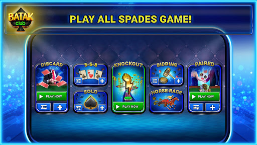 Batak Club - Online & Offline Spades Game 7.1.28 screenshots 2