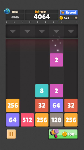 Drop The Numberu2122 : Merge Game  screenshots 6