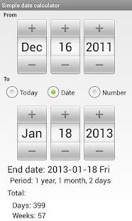Simple Date Calculator