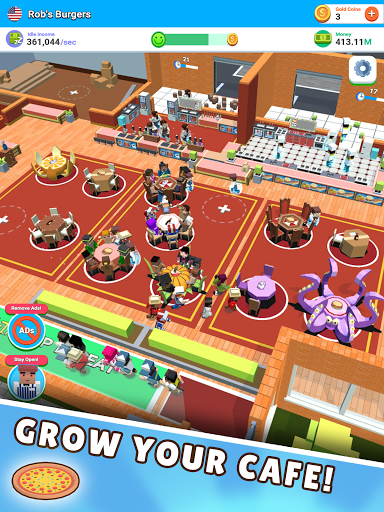 Idle Diner! Tap Tycoon 51.1.154 screenshots 9