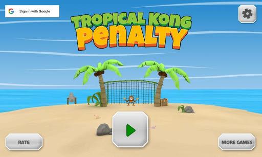 Tropical Kong Penalty screenshots 1