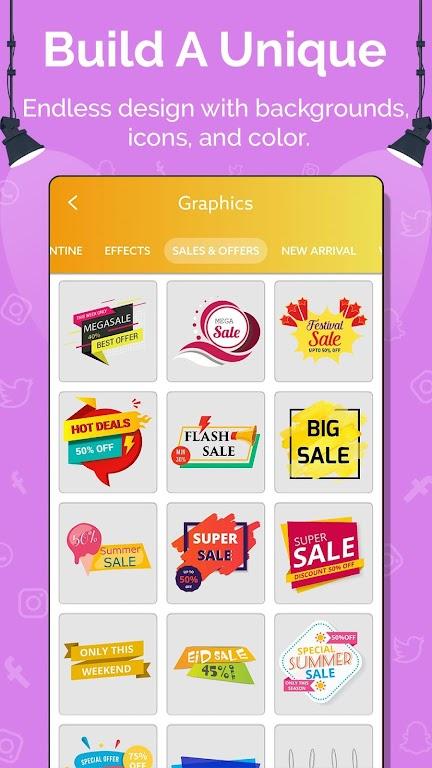Social Media Post Maker, Planner, Graphic Design  poster 5