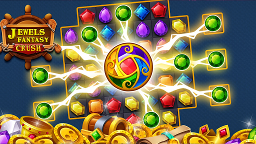Jewels Fantasy Crush : Match 3 Puzzle apkpoly screenshots 18