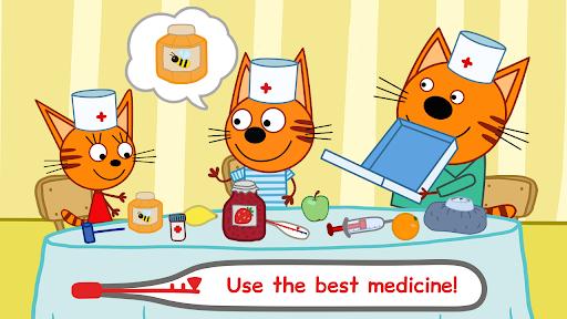 Kid-E-Cats Animal Doctor Games for Kidsu30fbPet Doctor  screenshots 4