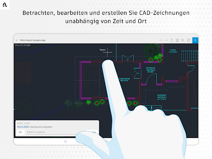 AutoCAD – DWG-Editor Screenshot