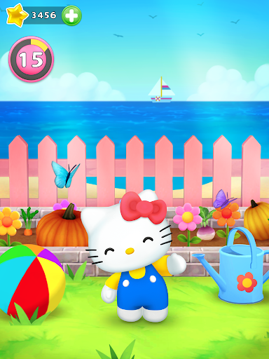 Talking Hello Kitty - Virtual pet game for kids  screenshots 13